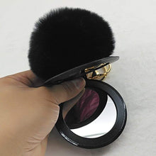 Kinky Cloth 200000174 Color 4 Puff Ball Mirror Key Chain