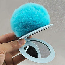Kinky Cloth 200000174 Color 6 Puff Ball Mirror Key Chain