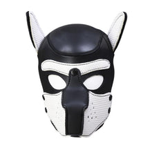 Kinky Cloth Accessories White Puppy Play Dog Hood Mask