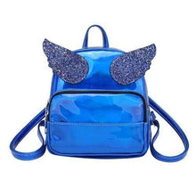 Turquoise Chloe Bags & Wallets C Rave Angel Backpack Holgraphic