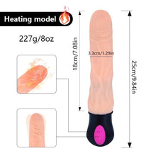 Kinky Cloth 200001516 USB Heating Realistic Dildo Vibrator For Women