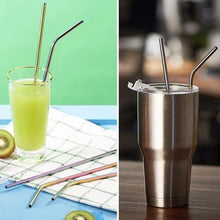 Kinky Cloth Home Reusable Stainless Steel Straw Set