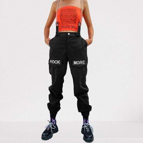 Kinky Cloth 200000366 Rock More Patchwork Chains Pants