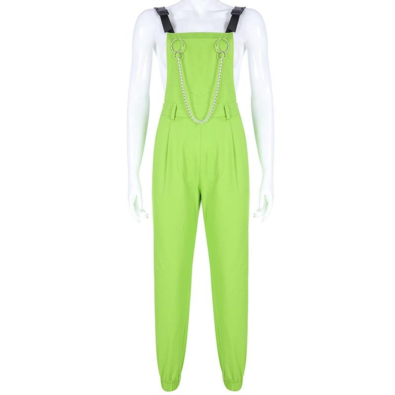 Kinky Cloth Bodysuit Green Pant / L Rogue Jumpsuit