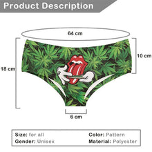 Kinky Cloth Panties Roll Your Weed On It Booty Shorts