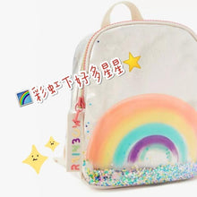 Kinky Cloth 152401 Sequined Rainbow Printed Backpack