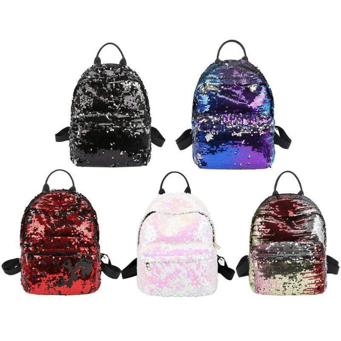 Kinky Cloth 152401 Sequins Glitter Bling Backpacks