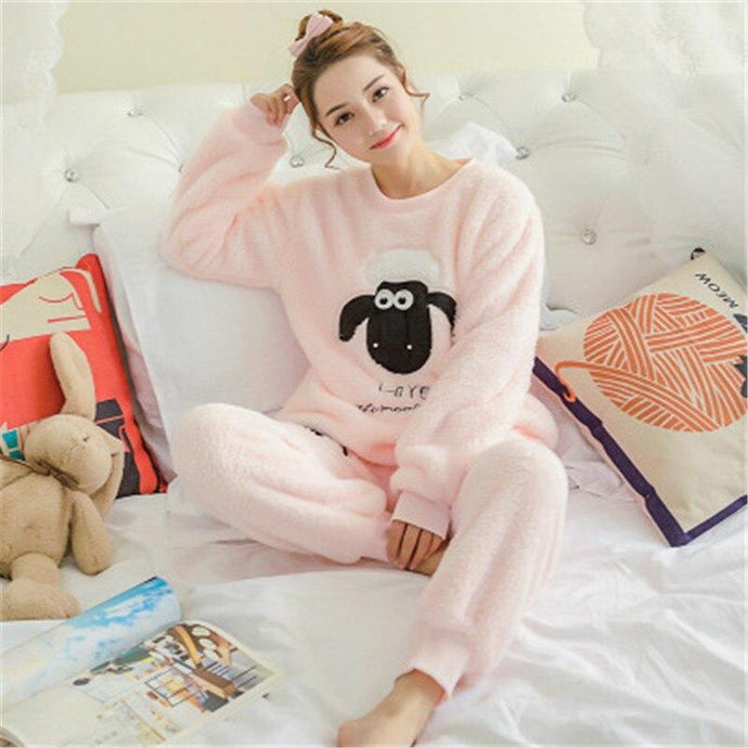 Kinky Cloth 200001904 Shawn The Sheep Flannel Pajama Set