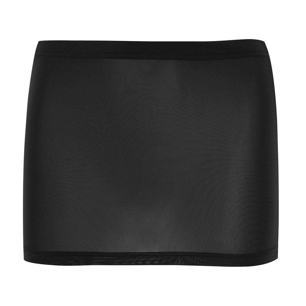 Kinky Cloth 349 Black / One Size Sheer Mesh Mini Skirt