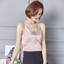Kinky Cloth Pink / S Silk Cami Top