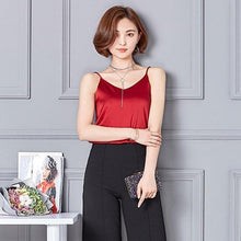 Kinky Cloth Red / S Silk Cami Top