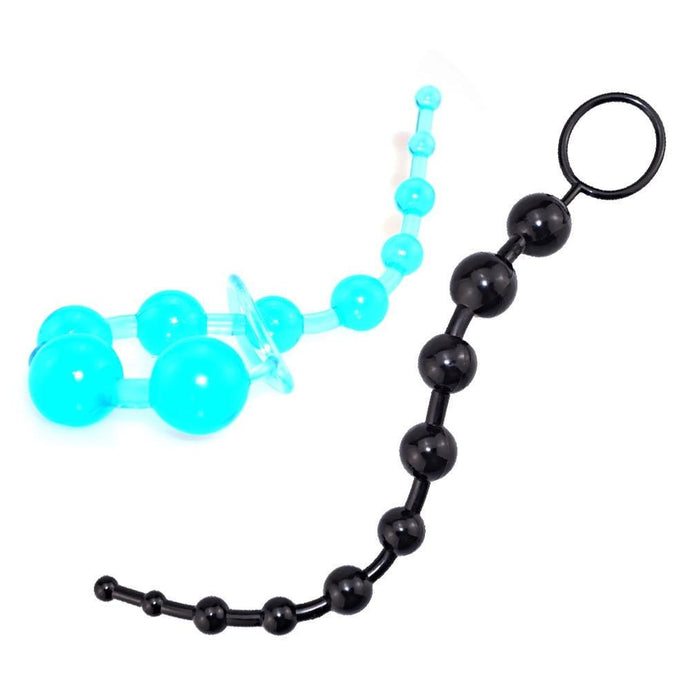 Kinky Cloth 200001518 Soft Silicone Beads Plug With Pull Ring