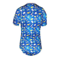 Kinky Cloth Blue Planet / S Space World Onesie