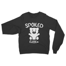 alloverprint.it Apparel Black / S Spoiled Little Classic Adult Sweatshirt
