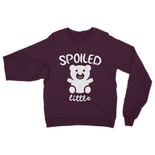 alloverprint.it Apparel Burgundy / S Spoiled Little Classic Adult Sweatshirt