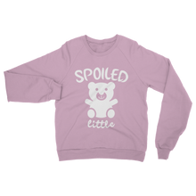 alloverprint.it Apparel Light Pink / S Spoiled Little Classic Adult Sweatshirt