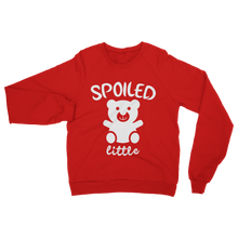 alloverprint.it Apparel Red / S Spoiled Little Classic Adult Sweatshirt