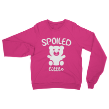 alloverprint.it Apparel Safety Pink / S Spoiled Little Classic Adult Sweatshirt