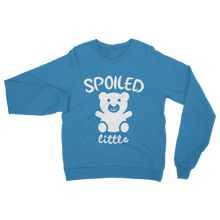 alloverprint.it Apparel Sapphire / S Spoiled Little Classic Adult Sweatshirt