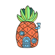 Kinky Cloth Pin Pineapple House Spongebob Square Pants Enamel Pins