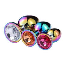 Kinky Cloth Stainless Steel Holographic Plug