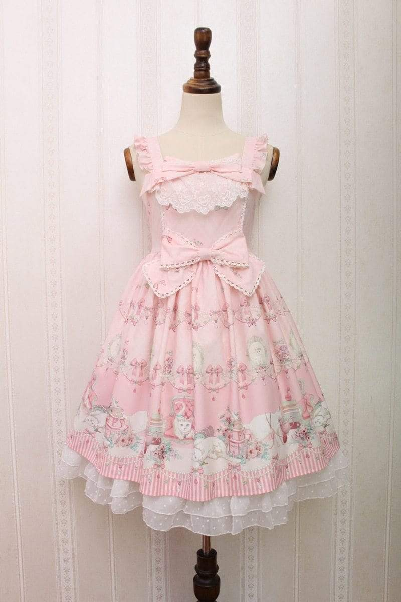 Kinky Cloth Dresses Pink / M Sweet Doll Lolita Dress