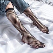 Kinky Cloth 200000866 Transparent Elastic Fishnet Stockings