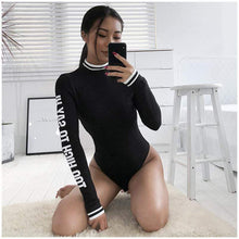 Kinky Cloth Bodysuit Turtleneck Too High Bodysuit