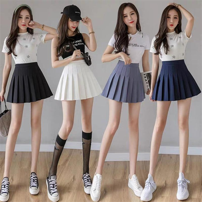 Kinky Cloth 349 Ultra Short Pleated Slim Fit Skirt