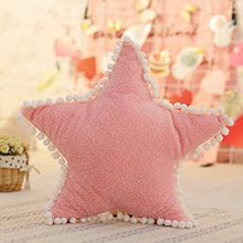 Kinky Cloth 200386144 Pink star Ultra Soft Plush Throw Pillow