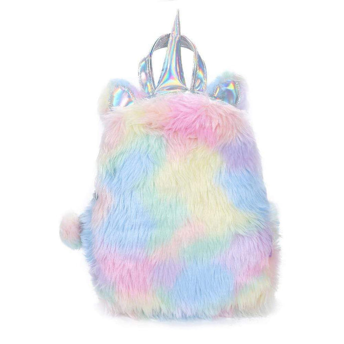 Kinky Cloth Large Pink Unicorn Backpack