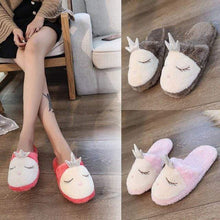 Marquise Footwear A / 37 Unicorn Slippers