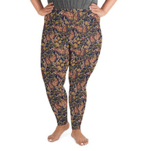 Kinky Cloth Vintage Floral Plus Size Leggings