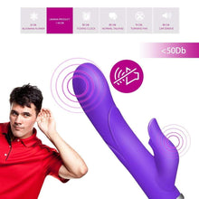 Load image into Gallery viewer, Wild Wabbit Multi Speeds G-spot and Clitoris Vibrator