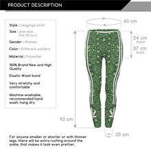 Kinky Cloth leggings Weed Athletic Leggings