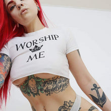 Kinky Cloth Top Worship Me Crown Top