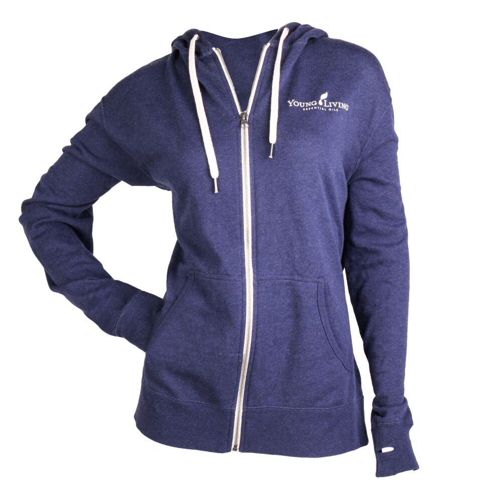Unisex French Terry Full Zip Hoodie