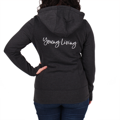 Ladies' Tri-Blend Full Zip Hoodie