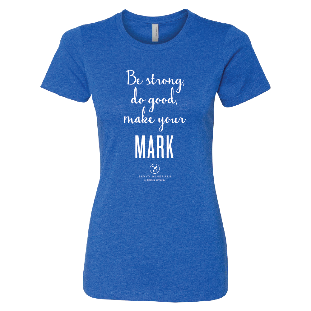Women's Savvy Make Your Mark Tee