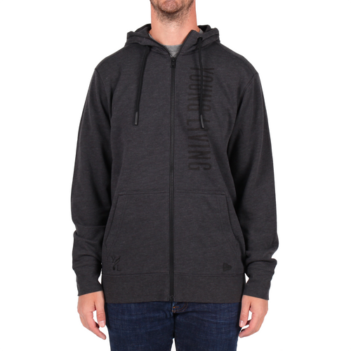 Men's Tri-Blend Full Zip Hoodie