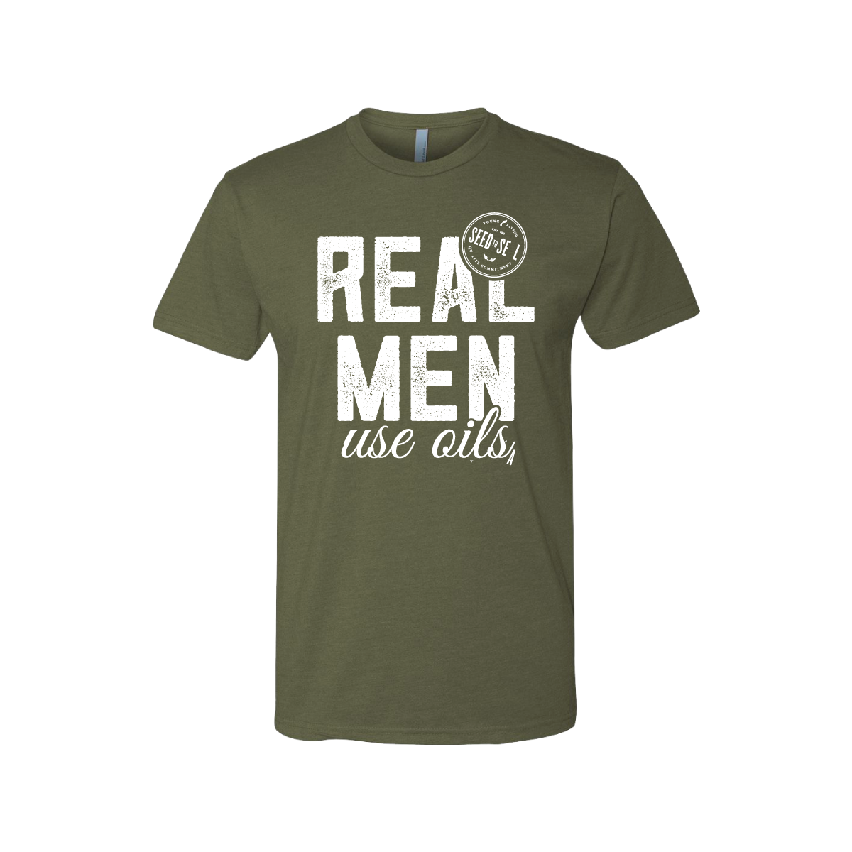 Real Men Use Oils Tee
