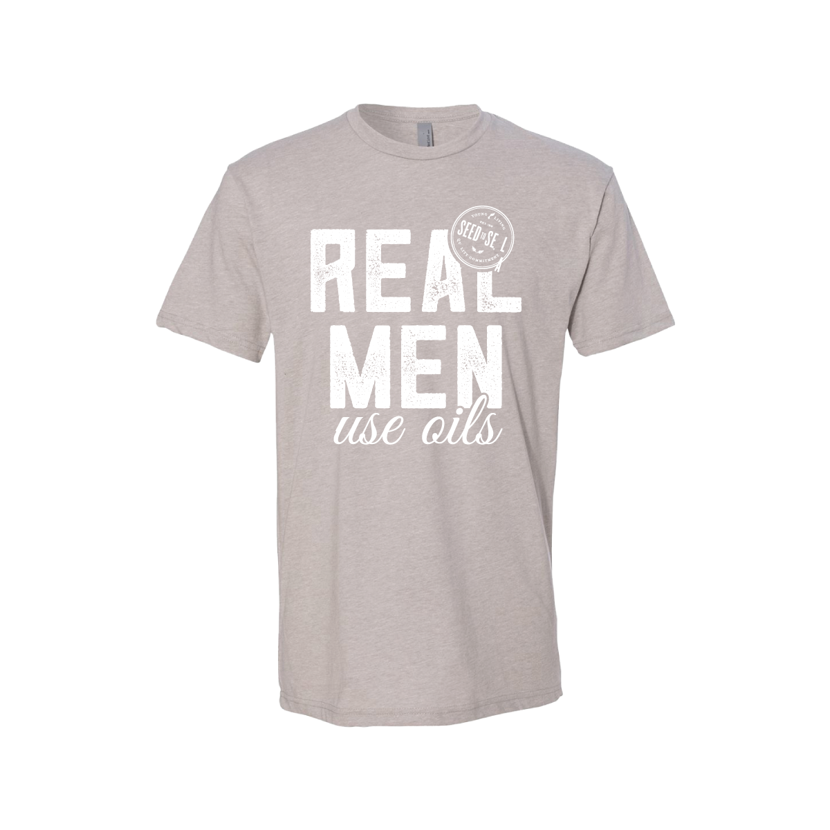 Men's Real Men Use Oils Tee