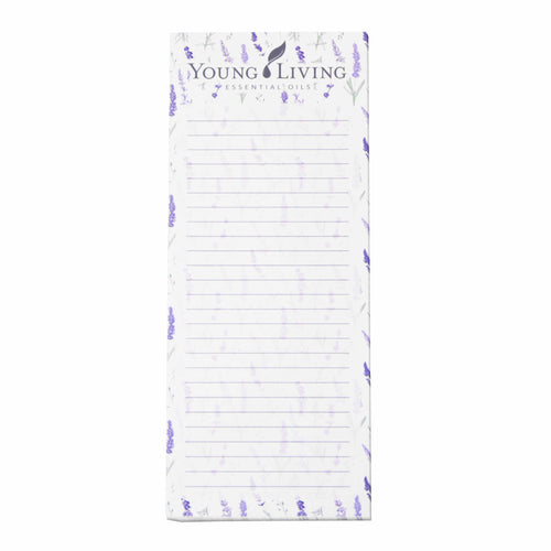 Lavender Magnetic Notepad