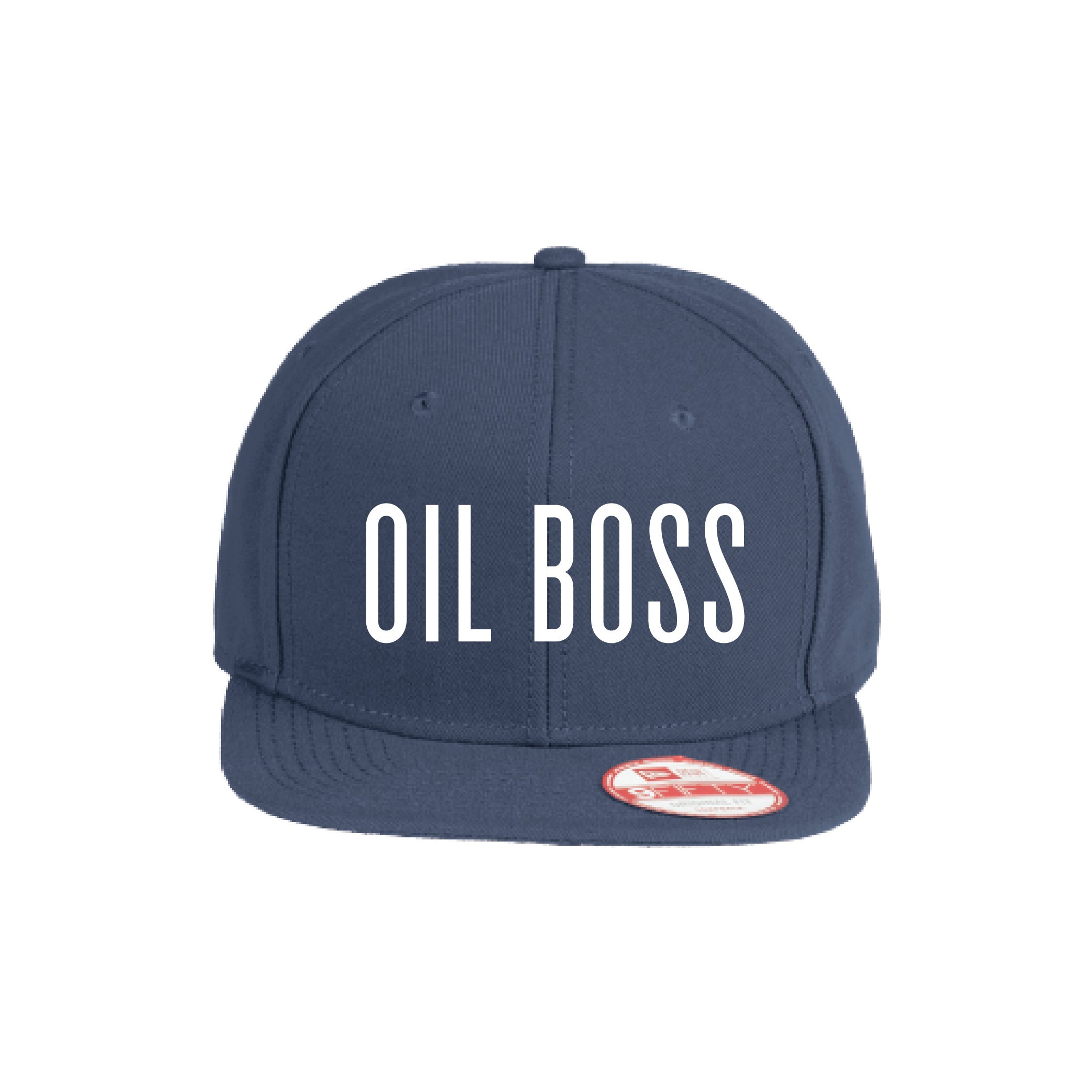 Flat Bill Hat- Oil Boss