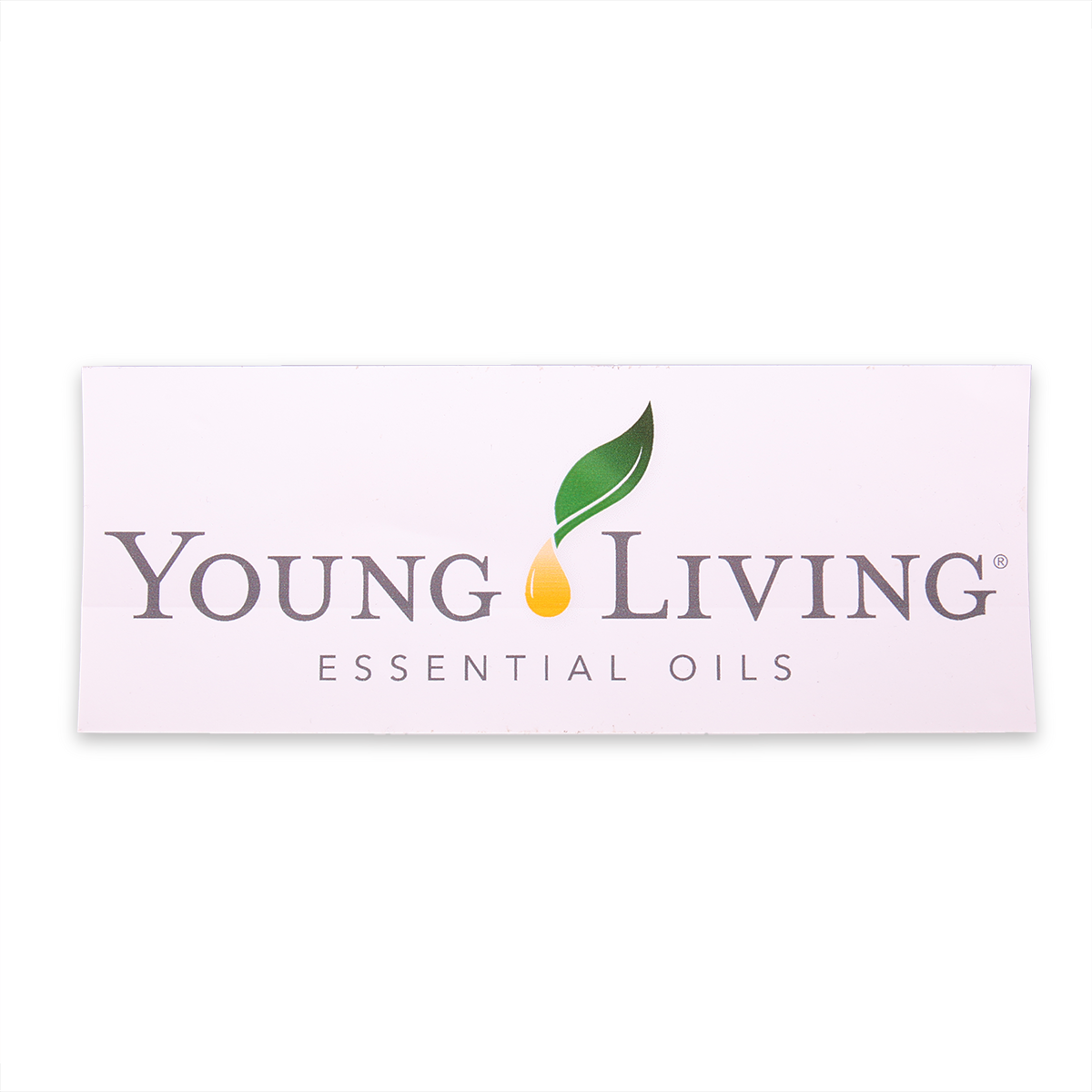 Vinyl young living decal