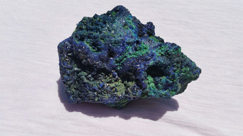 Fascinating Polished Azurite and Malachite