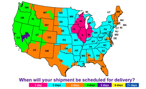 Fed Ex Shipping Times