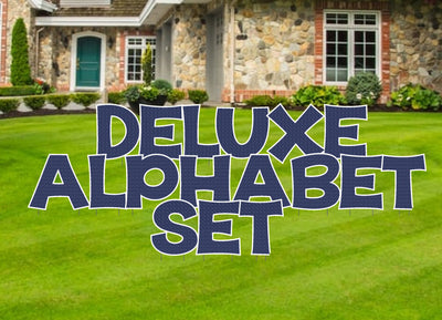 24 inch deluxe alphabet set KG The Last Time