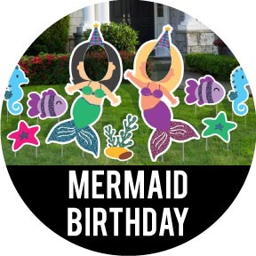 Mermaid Themed Birthday Party Decorations
