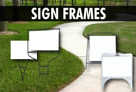 Realtor Sign Frames